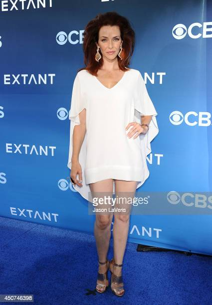 Actress Annie Wersching attends the premiere of 'Extant' at California Science Center on June 16 2014 in Los Angeles California