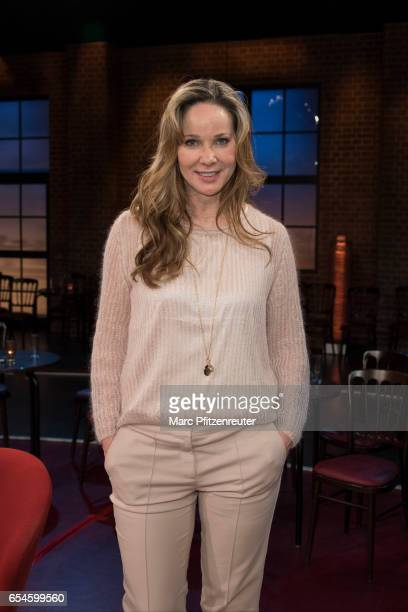 Actress AnnKathrin Kramer attends the 'Koelner Treff' TV Show at the WDR Studio on March 17 2017 in Cologne Germany