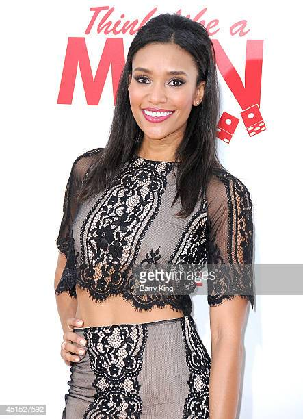 Actress Annnie Ilonzeh attends the premiere of 'Think Like A Man Too' on June 9 2014 at TCL Chinese Theatre in Hollywood California