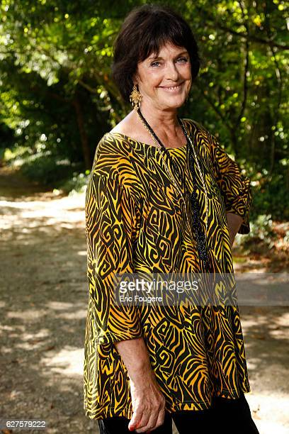 Actress Anny Duperey Photographed in PARIS
