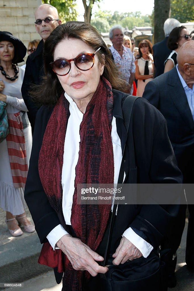 Designer Sonia Rykiel's Funerals at Cimetiere du Montparnasse in Paris
