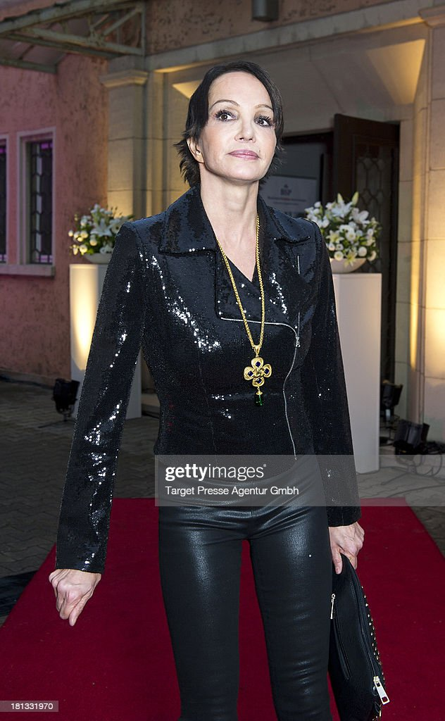 Actress Anouschka Renzi attends the 'Fest der Eleganz und Intelligenz' at Villa Siemens on September 20, 2013 in Berlin, Germany.