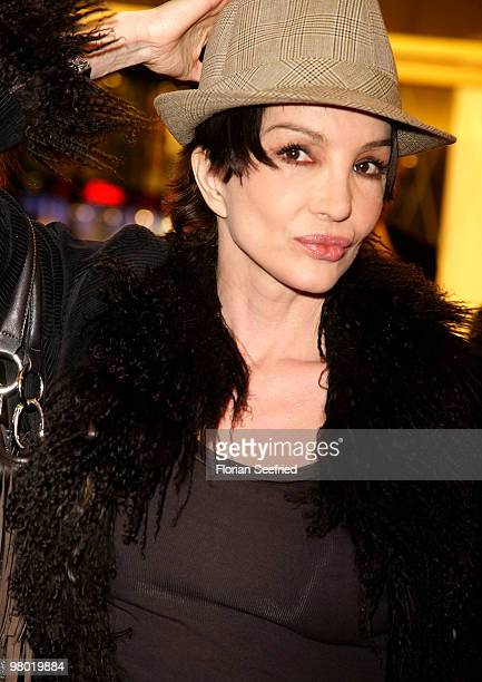 Actress Anouschka Renzi attends the premiere of 'Haltet Die Welt an' at cinema Astor Film Lounge on March 24 2010 in Berlin Germany