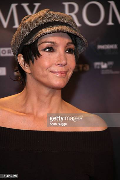 Actress Anouschka Renzi attends the premiere of 'Romy' at the Delphi cinema on October 27 2009 in Berlin Germany