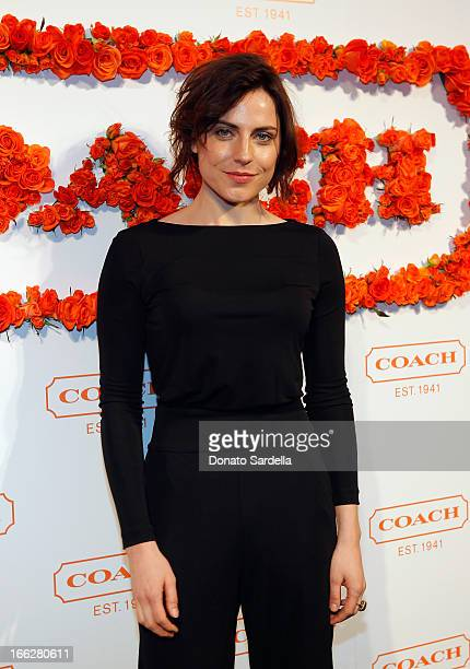 Actress Antje Traue attends Coach's 3rd Annual Evening of Cocktails and Shopping to Benefit the Children's Defense Fund hosted by Katie McGrath JJ...
