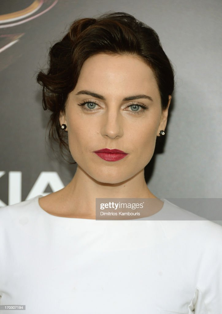Actress <a gi-track='captionPersonalityLinkClicked' href=/galleries/search?phrase=Antje+Traue&family=editorial&specificpeople=5708813 ng-click='$event.stopPropagation()'>Antje Traue</a> attends the 'Man Of Steel' world premiere at Alice Tully Hall at Lincoln Center on June 10, 2013 in New York City.