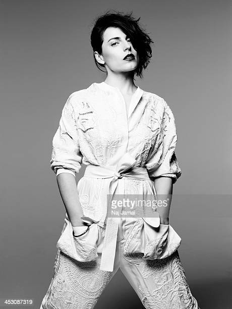 Actress Antje Traue is photographed for Bullett on April 16 2013 in Los Angeles California