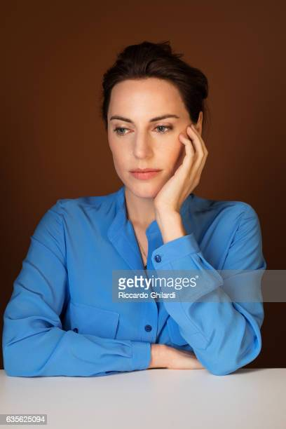 Actress Antje Traue is photographed for Self Assignment on February 11 2017 in Berlin Germany
