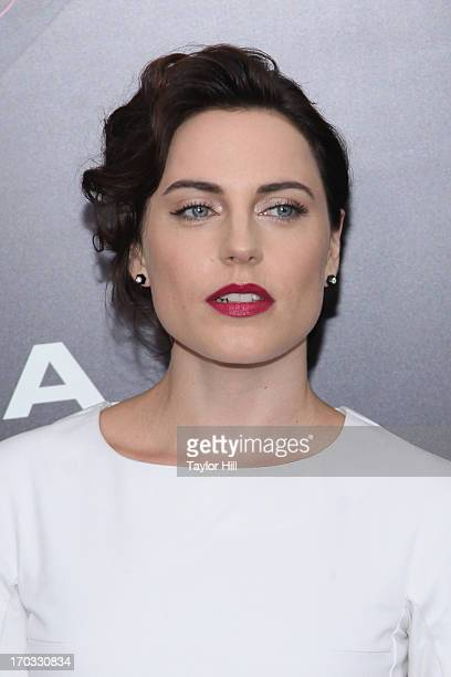 Actress Antje Traue 'Man Of Steel' World Premiere at Alice Tully Hall at Lincoln Center on June 10 2013 in New York City