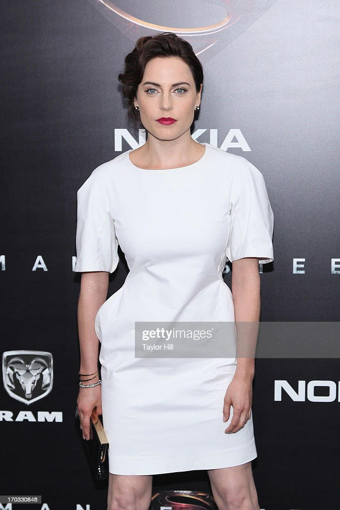 Actress <a gi-track='captionPersonalityLinkClicked' href=/galleries/search?phrase=Antje+Traue&family=editorial&specificpeople=5708813 ng-click='$event.stopPropagation()'>Antje Traue</a> 'Man Of Steel' World Premiere at Alice Tully Hall at Lincoln Center on June 10, 2013 in New York City.