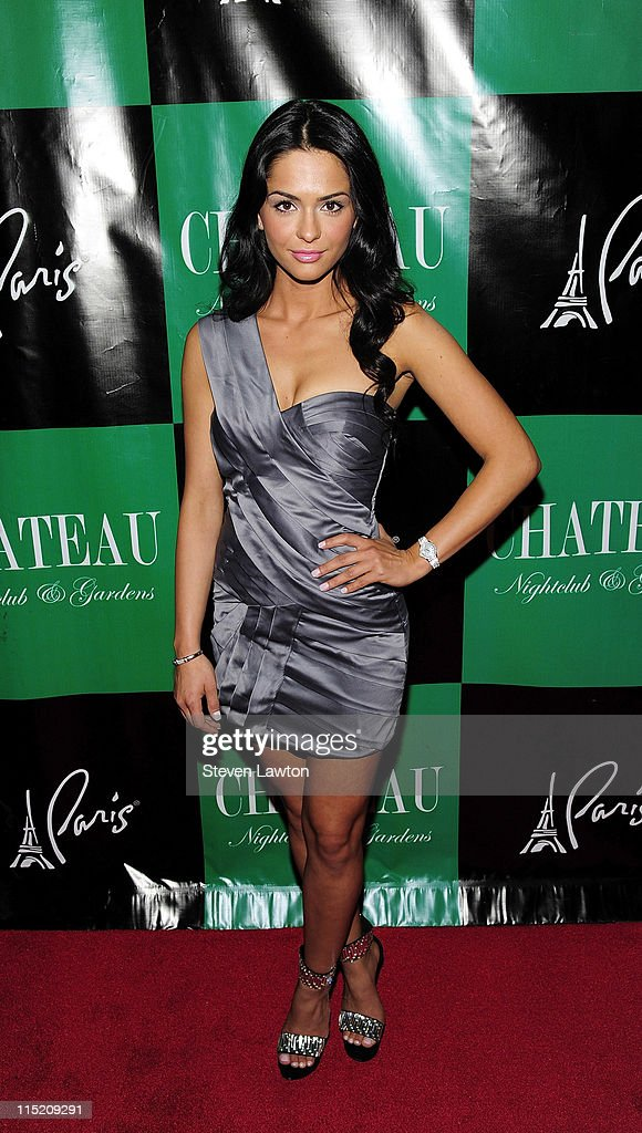 Actress Antoinette Nikprelaj arrives to host an evening at Chateau Nightclub & Gardens on June 3, 2011 in Las Vegas, Nevada.