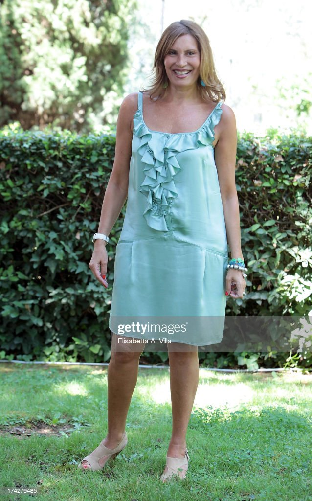 Actress Antonella Fattori attends 'La Tre Rose Di Eva 2' photocall at Mediaset Studios on July 23, 2013 in Rome, Italy.