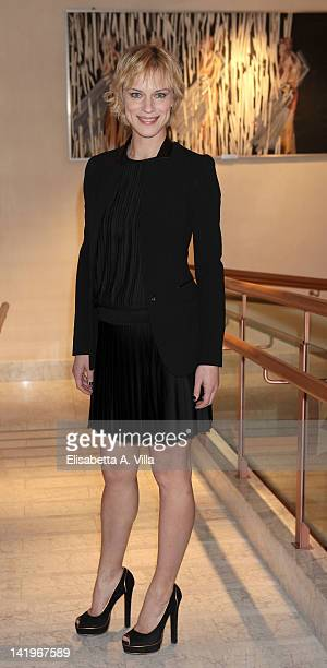 Actress Antonia Liskova attends a screening of 'Mai Per Amore' at Camera dei Deputati on March 27 2012 in Rome Italy