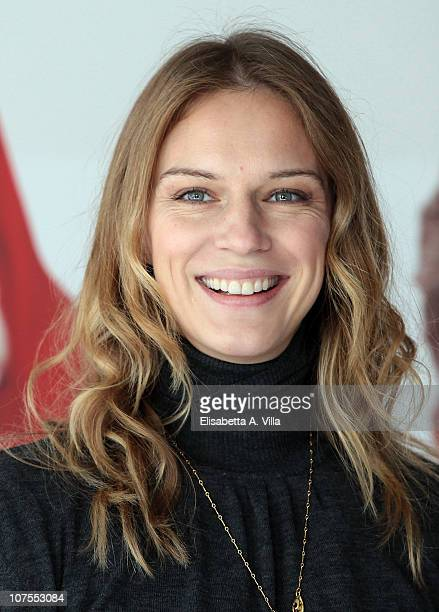 Actress Antonia Liskova attends 'La Banda Dei Babbi Natale' photocall at the Adriano Cinema on December 13 2010 in Rome Italy