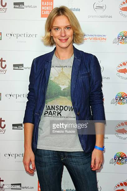 Actress Antonia Liskova attends the Fabrique du Cinema party at Studios on December 19 2014 in Rome Italy