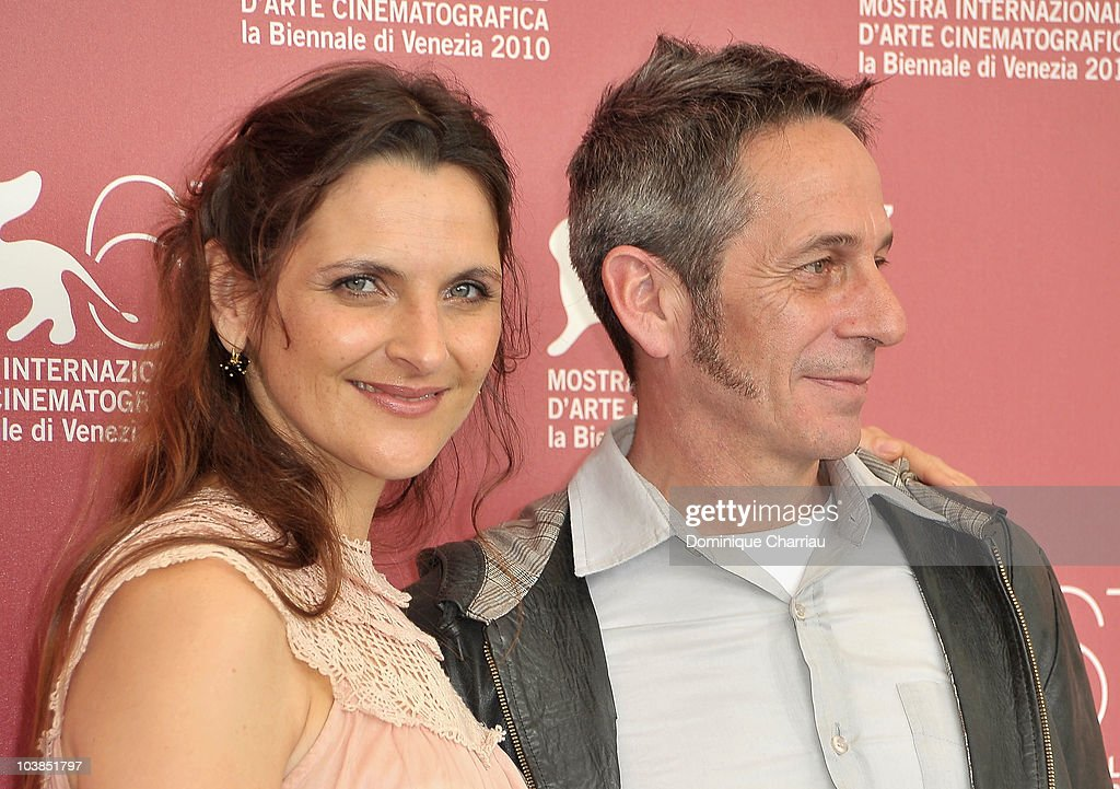 Actress Antonia Zegers (L) and actor <a gi-track='captionPersonalityLinkClicked' href=/galleries/search?phrase=Alfredo+Castro&family=editorial&specificpeople=7173146 ng-click='$event.stopPropagation()'>Alfredo Castro</a> attend the 'Post Mortem' photocall at the Palazzo del Casino during the 67th Venice International Film Festival on September 5, 2010 in Venice, Italy.