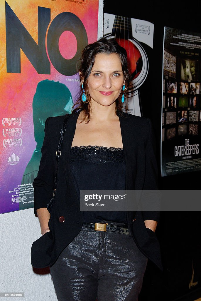 Actress <a gi-track='captionPersonalityLinkClicked' href=/galleries/search?phrase=Antonia+Zegers&family=editorial&specificpeople=7173145 ng-click='$event.stopPropagation()'>Antonia Zegers</a> arrives at the Sony Pictures Classics Pre-Oscar Dinner at The London Hotel on February 23, 2013 in West Hollywood, California.