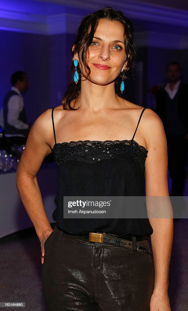 Actress <a gi-track='captionPersonalityLinkClicked' href=/galleries/search?phrase=Antonia+Zegers&family=editorial&specificpeople=7173145 ng-click='$event.stopPropagation()'>Antonia Zegers</a> attends the Sony Pictures Classics Pre-Oscar Dinner at The London Hotel on February 23, 2013 in West Hollywood, California.