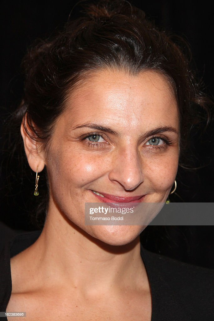 Actress Antonia Zegers of the film 'No' attends the 85th annual Academy Awards Foreign Language Film Award photoop held at the Dolby Theatre on...