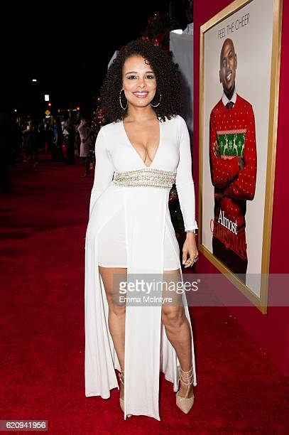 Actress Antonique Smith arrives at the premiere of Universal's 'Almost Christmas' at Regency Village Theatre on November 3 2016 in Westwood California