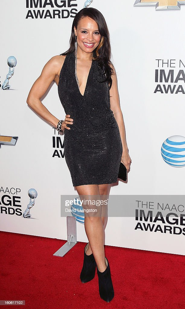 Actress Antonique Smith attends the 44th NAACP Image Awards at the Shrine Auditorium on February 1, 2013 in Los Angeles, California.