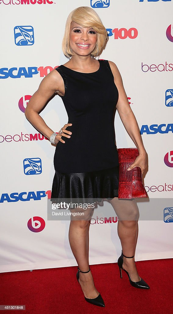 Actress <a gi-track='captionPersonalityLinkClicked' href=/galleries/search?phrase=Antonique+Smith&family=editorial&specificpeople=4123774 ng-click='$event.stopPropagation()'>Antonique Smith</a> attends the ASCAP 27th Annual Rhythm & Soul Music Awards at The Beverly Hilton Hotel on June 26, 2014 in Beverly Hills, California.