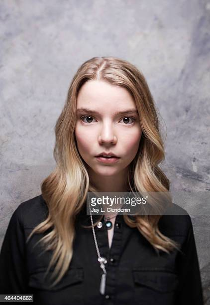 Actress Anya Taylor Joy is photographed for Los Angeles Times at the 2015 Sundance Film Festival on January 24 2015 in Park City Utah PUBLISHED IMAGE...