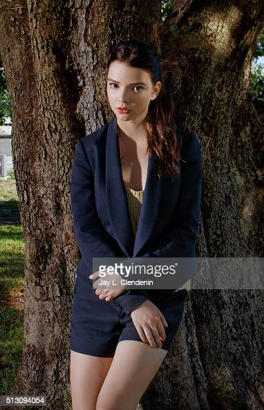 Actress Anya Taylor Joy of The Witch' is photographed for Los Angeles Times on February 12 2016 in Los Angeles California PUBLISHED IMAGE CREDIT MUST...
