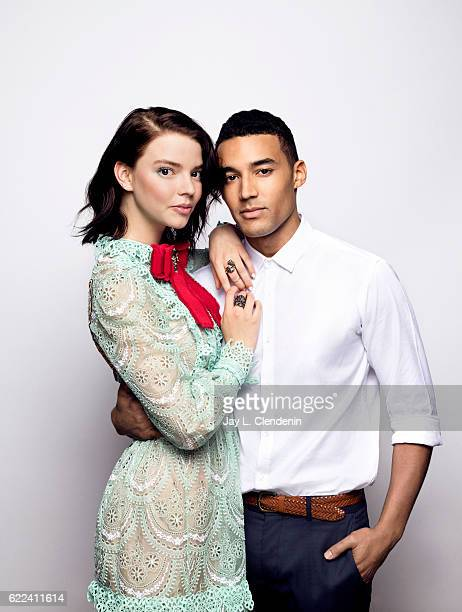 Actress Anya TaylorJoy and actor Devon Terrell from the movie 'Barry' pose for a portraits at the Toronto International Film Festival for Los Angeles...