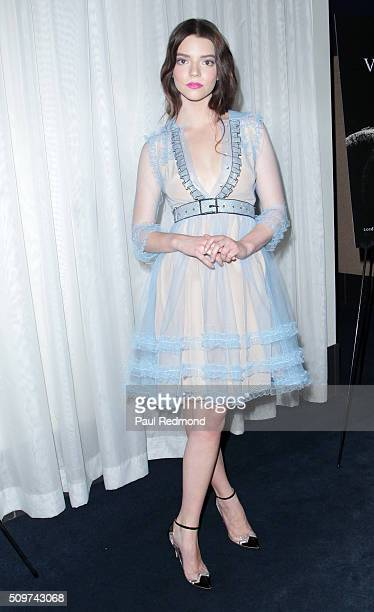 Actress Anya TaylorJoy arrives at the premiere of A24's 'The Witch' at ArcLight Cinemas on February 11 2016 in Hollywood California