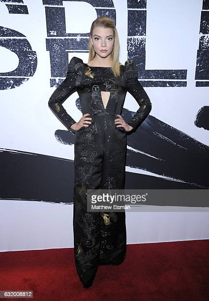 Actress Anya TaylorJoy attends 'Split' New York Premiere at SVA Theater on January 18 2017 in New York City