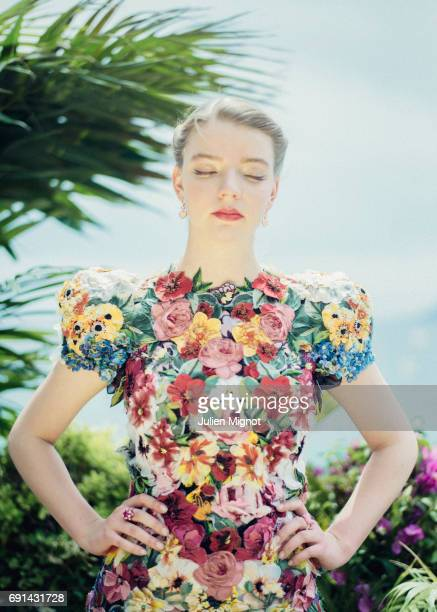 Actress Anya TaylorJoy is photographed for Grazia magazine on May 22 2017 in Cannes France Published Image