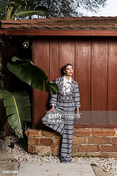 Actress Anya TaylorJoy is photographed for The Hollywood Reporter on February 3 2016 in Los Angeles California