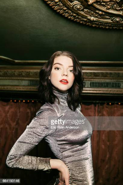 Actress Anya TaylorJoy is photographed for The Hollywood Reporter on October 22 2016 in New York City