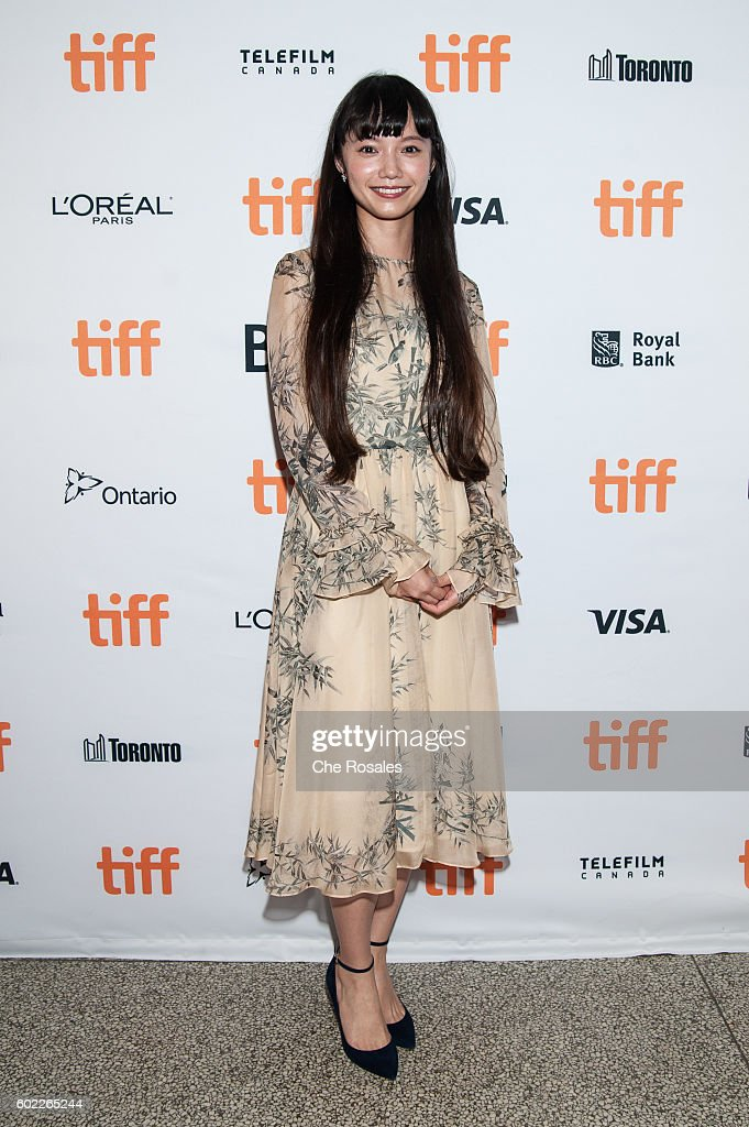 Actress Aoi Miyazaki attends the premiere of 'Rage' during the 2016 Toronto International Film Festival at The Elgin on September 10, 2016 in Toronto, Canada.