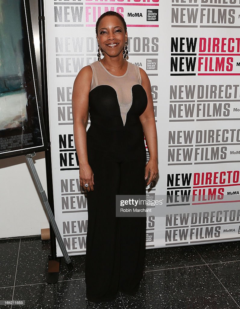 Actress April Thompson attends the New Directors/New Films 2013 Opening Night screening of 'Blue Caprice' at the Museum of Modern Art on March 20, 2013 in New York City.