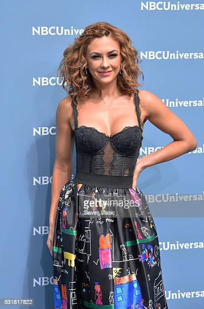 Actress Aracely Arambula attends the NBCUniversal 2016 Upfront Presentation on May 16 2016 in New York New York