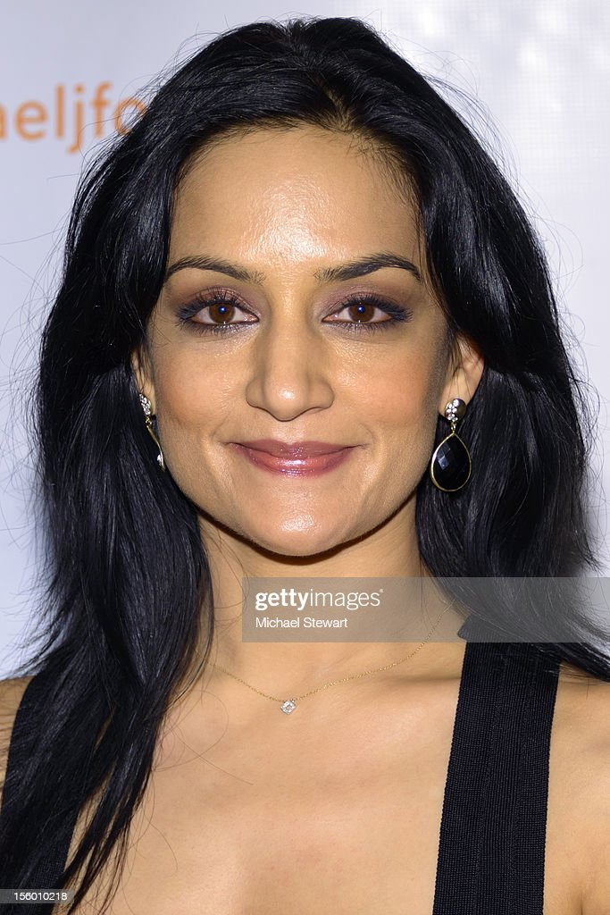 Actress Archie Panjabi attends the 2012 A Funny Thing Happened On The Way To Cure Parkinson's at The Waldorf=Astoria on November 10, 2012 in New York City.