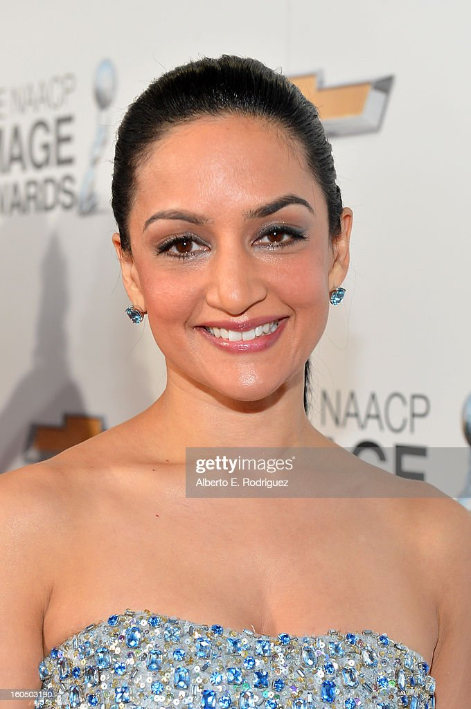 Actress Archie Panjabi attends the 44th NAACP Image Awards at The Shrine Auditorium on February 1, 2013 in Los Angeles, California.