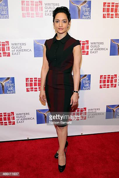 Actress Archie Panjabi attends The 66th Annual Writers Guild Awards East Coast Ceremony at The Edison Ballroom on February 1 2014 in New York City