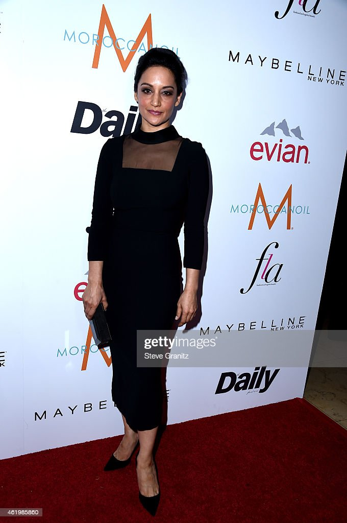 Actress <a gi-track='captionPersonalityLinkClicked' href=/galleries/search?phrase=Archie+Panjabi&family=editorial&specificpeople=811427 ng-click='$event.stopPropagation()'>Archie Panjabi</a> attends The Daily Front Row's 1st Annual Fashion Los Angeles Awards at Sunset Tower Hotel on January 22, 2015 in West Hollywood, California.