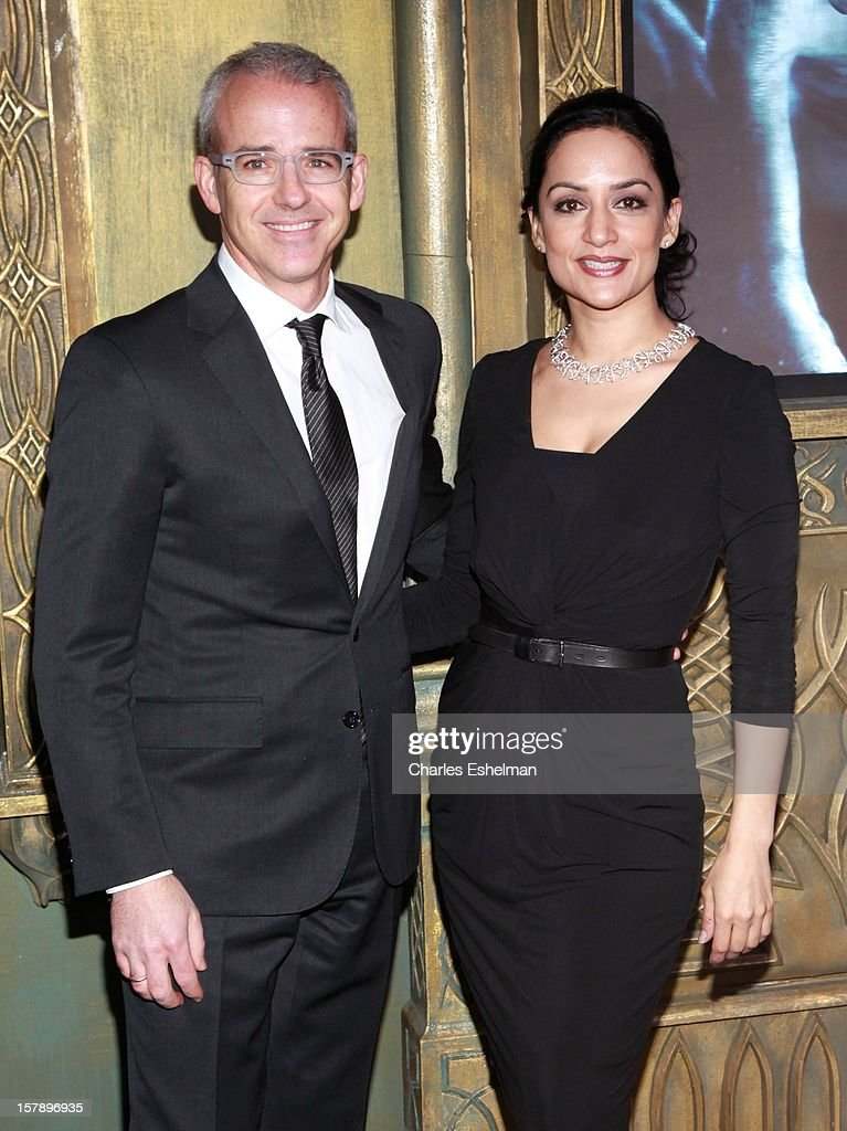 Actress <a gi-track='captionPersonalityLinkClicked' href=/galleries/search?phrase=Archie+Panjabi&family=editorial&specificpeople=811427 ng-click='$event.stopPropagation()'>Archie Panjabi</a> attends 'The Hobbit: An Unexpected Journey' premiere at the Ziegfeld Theater on December 6, 2012 in New York City.