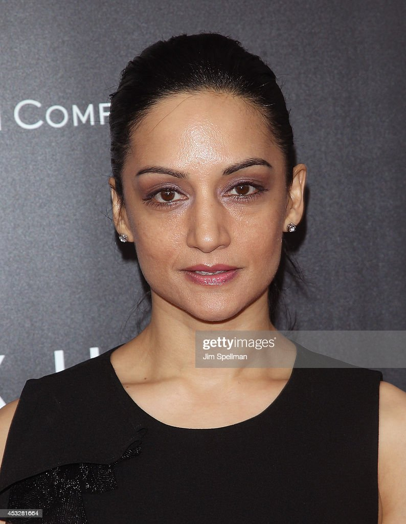 Actress <a gi-track='captionPersonalityLinkClicked' href=/galleries/search?phrase=Archie+Panjabi&family=editorial&specificpeople=811427 ng-click='$event.stopPropagation()'>Archie Panjabi</a> attends the 'Life is Amazing' Lexus Short Films Series at SVA Theater on August 6, 2014 in New York City.