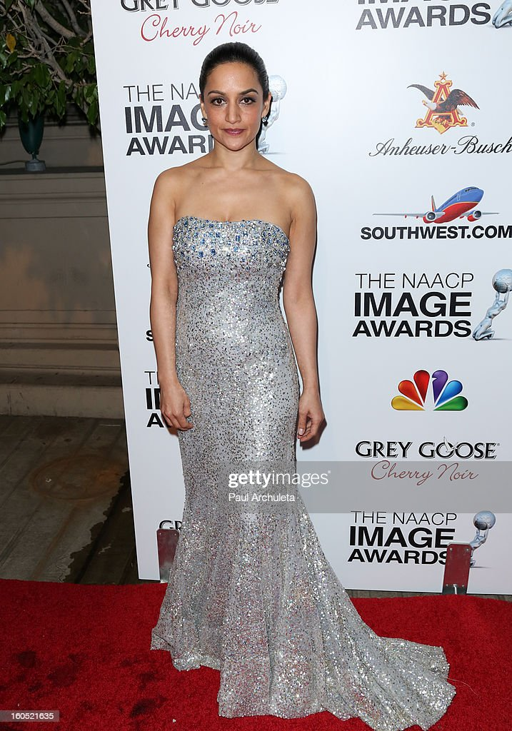 Actress Archie Panjabi attends the The 44th NAACP Image Awards post show gala at the Millennium Biltmore Hotel on February 1, 2013 in Los Angeles, California.