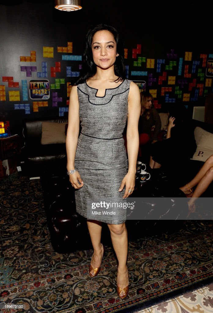 Actress Archie Panjabi attends the Variety Emmy Studio at Palihouse on May 30, 2013 in West Hollywood, California.