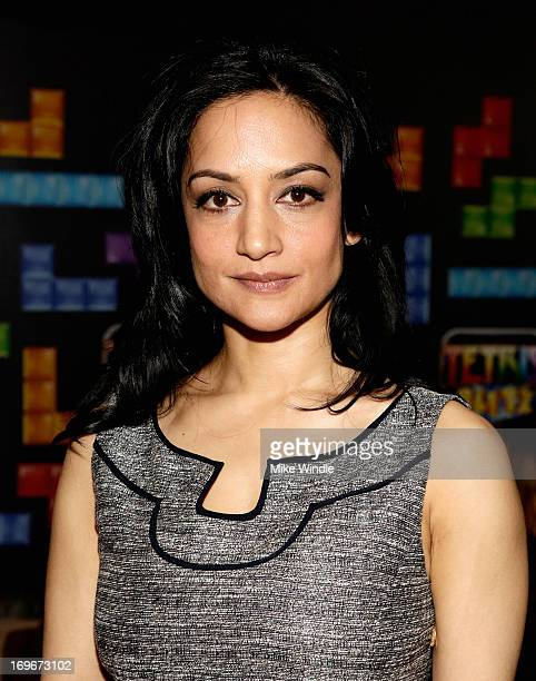 Actress Archie Panjabi attends the Variety Emmy Studio at Palihouse on May 30 2013 in West Hollywood California