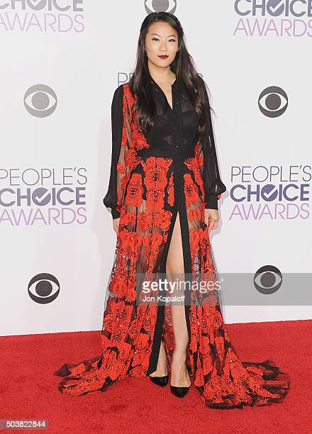 Actress Arden Cho arrives at People's Choice Awards 2016 at Microsoft Theater on January 6 2016 in Los Angeles California