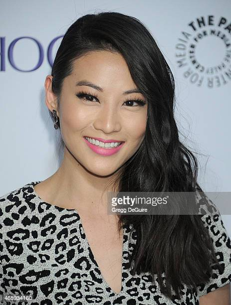 Actress Arden Cho arrives at the 32nd Annual PALEYFEST LA 'Teen Wolf' at Dolby Theatre on March 11 2015 in Hollywood California