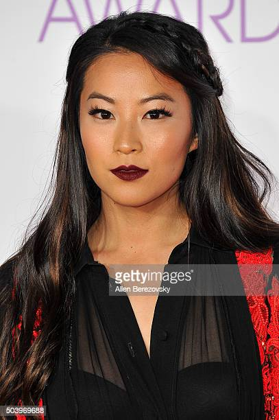 Actress Arden Cho arrives at the People's Choice Awards 2016 at Microsoft Theater on January 6 2016 in Los Angeles California