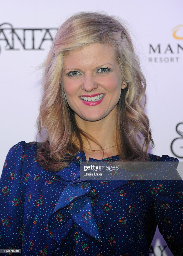 Actress Arden Myrin appears at the House of Blues inside the Mandalay Bay Resort & Casino following a mud ceremony for recording artist Carlos Santana May 4, 2012 in Las Vegas, Nevada. The ceremony involved combining dirt from the town of Clarksdale in the Mississippi Delta with dirt from Bethel, New York from the site of the Woodstock Festival and mud from Santana's hometown of Autlan de Navarro, Jalisco in Mexico to symbolize his two-year residency at the music venue.
